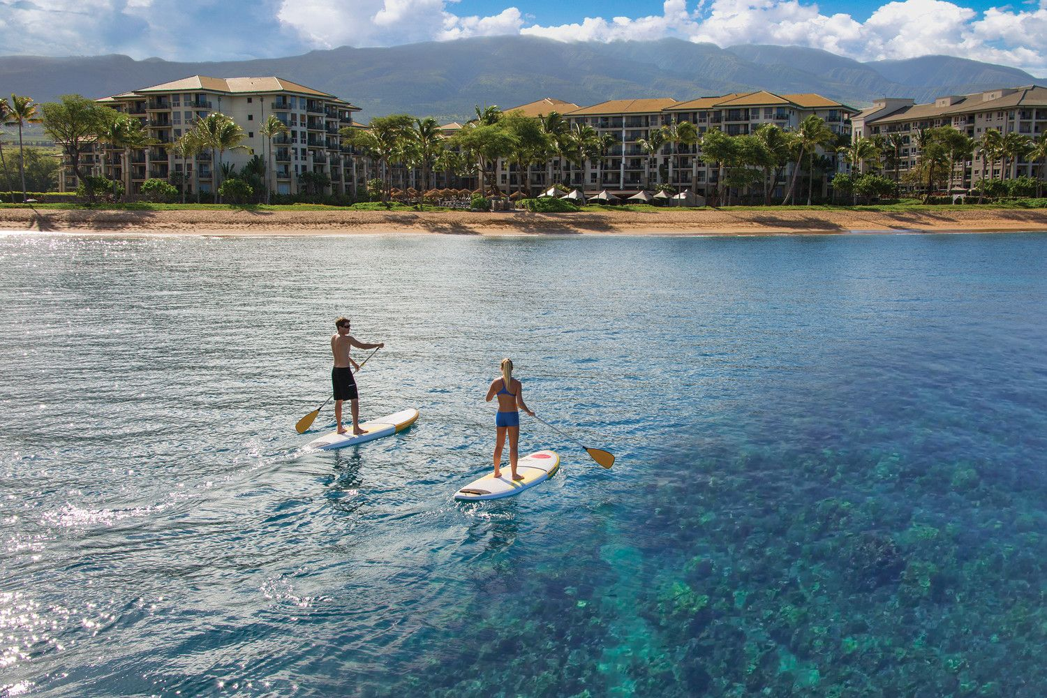 The Westin Ka'anapali Ocean Resort Villas - Paddle Boarding on Ocean