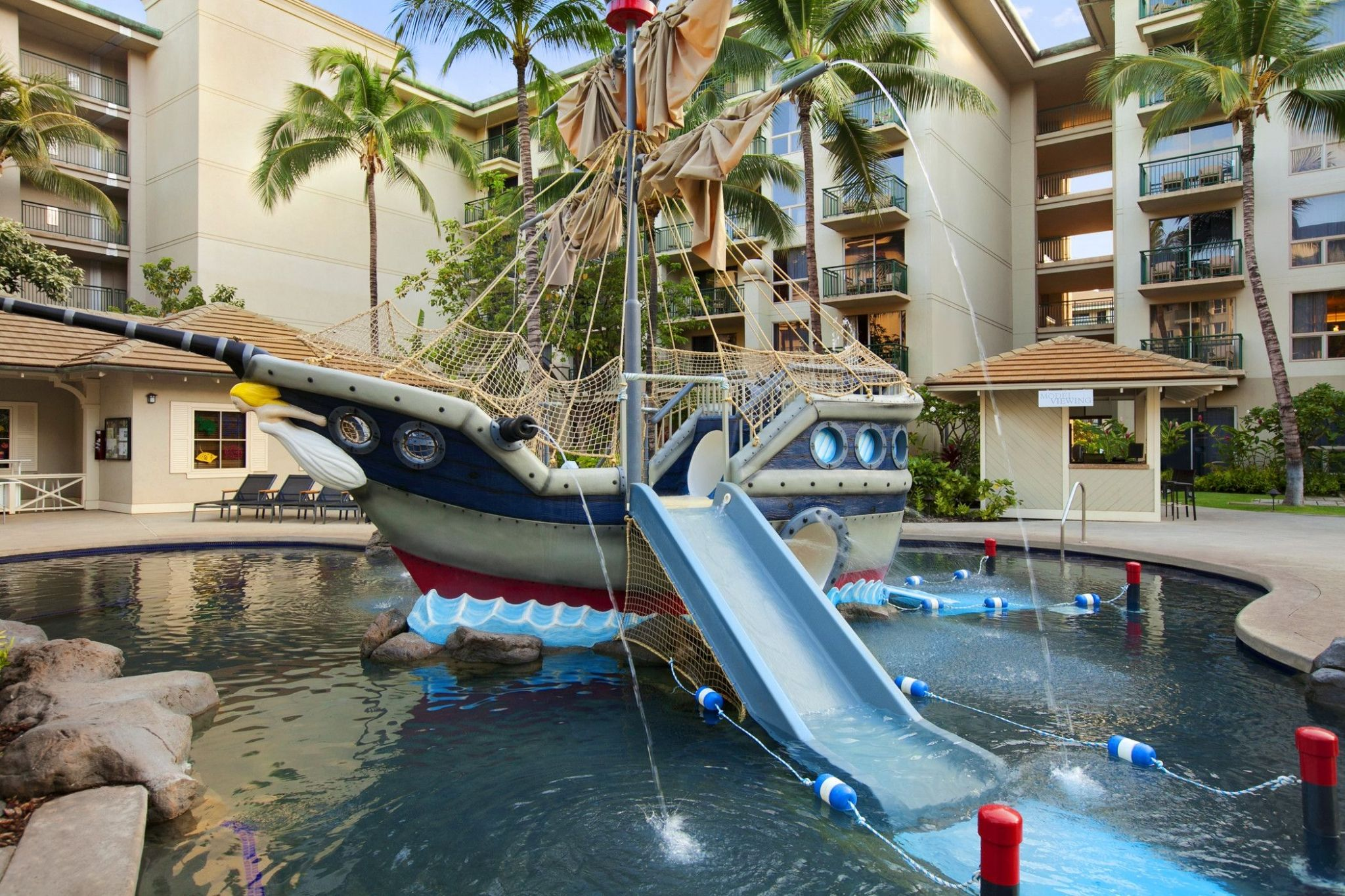Pirate Ship Pool